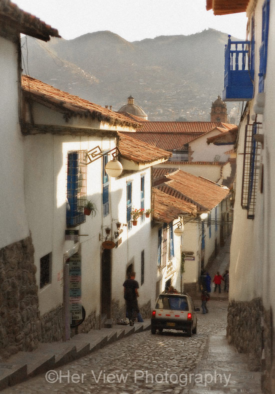 Photo Cusco street scene
