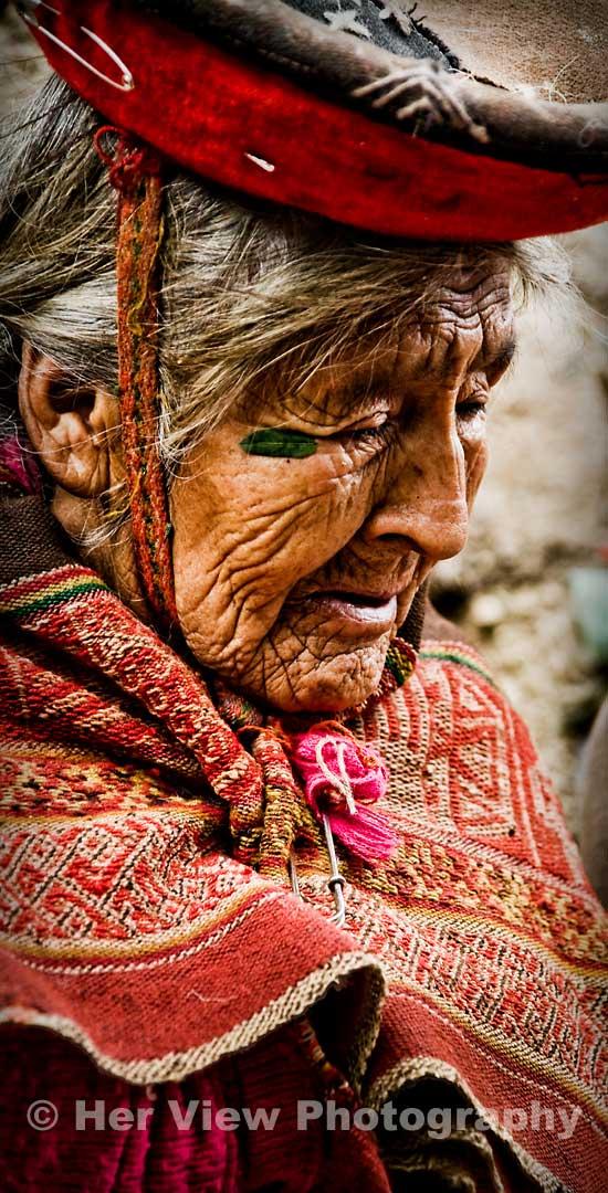 Mama Sentuza of the Sacred Valley Peru