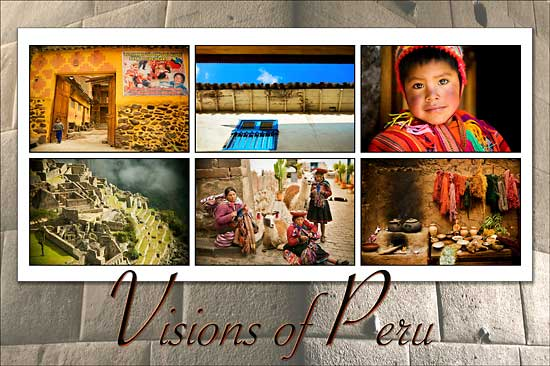 Visions of Peru fine art book