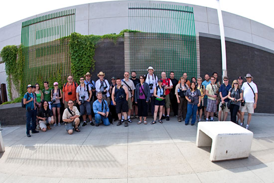 Edmonton photo walk Group photo