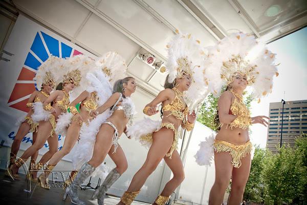 Edmonton latin festival Samba dancers