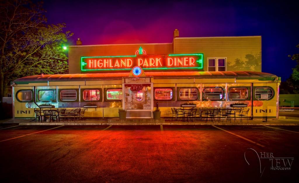 Highland Park Diner HDR