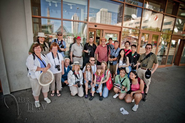 Group Photo Edmonton Photo Walk 2010