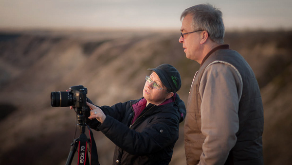 weekend photography workshop in drumheller