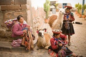 quechua peru weavers